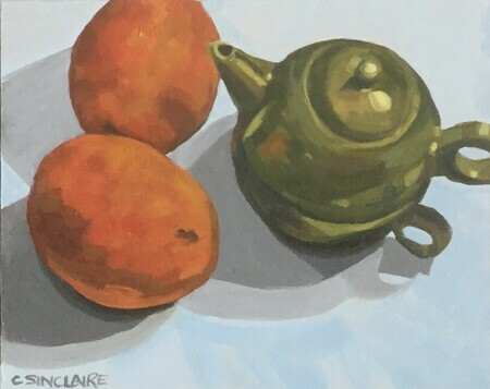 Tea and Oranges 1