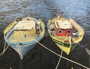 Little Greek Boats