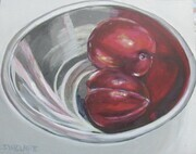 Plums in Stainless